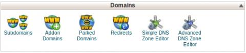 how to add a parked domain to cpanel