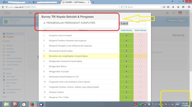 Rillis Survey TIK Kepala Sekolah & Pengawas
